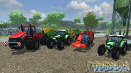 Скачать бесплатно Farming Simulator 2013 ПОЛНОСТЬЮ РУССКАЯ ВЕРСИЯ + ЛИЦЕНЗИОННЫЙ КЛЮЧ