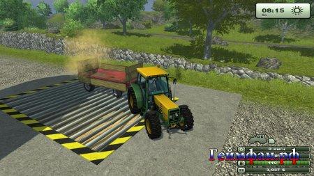 """Обзор игры """"Farming Simulator 2013""""помощь в прохождении"""